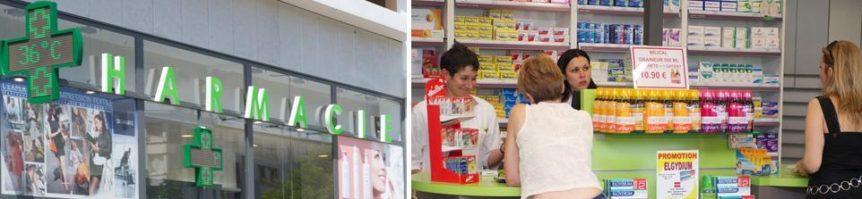 Pharmacie à Décines (Pharmacie de la Bascule)
