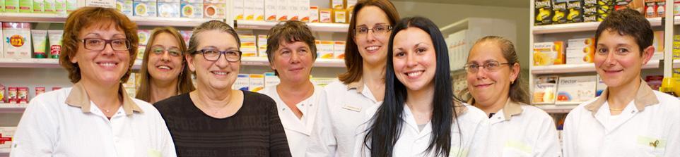 L'équipe de la pharmacie de la Bascule à Decines